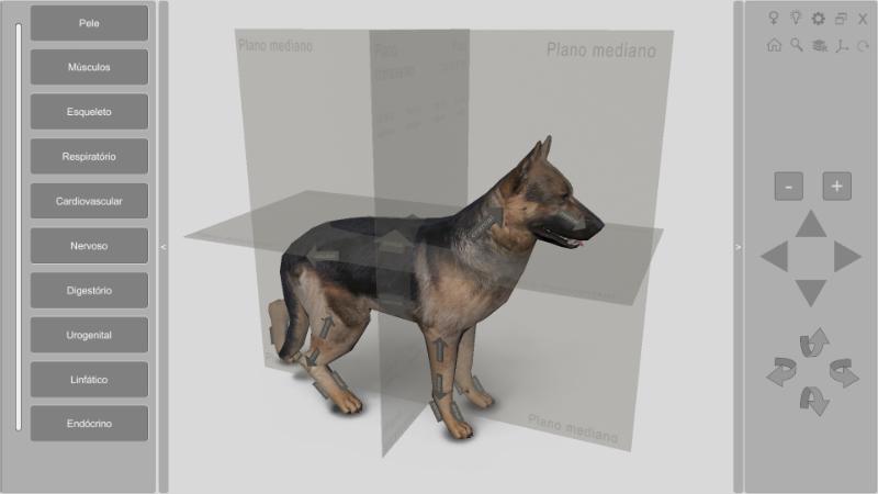 software anatomia canina 3D 2.0